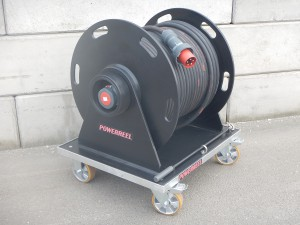 63A krachtstroom verlengkabel haspel PowerReel Products