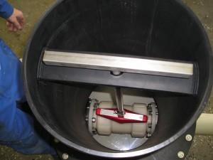 PVDF kogelkraan, ondergrondse PVDF kraan