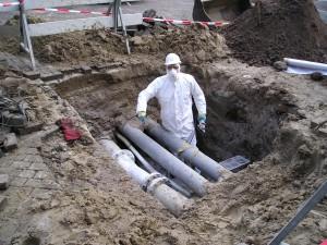 PVC-GVK leiding repareren, installeren