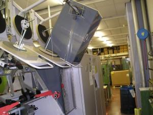 Afscherming machine, beschermkappen machines
