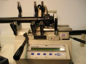 HDPE 100, gecertificeerd lassen, HDPE doseerleiding, polyetheen lassen, Infrarood HDPE lassen