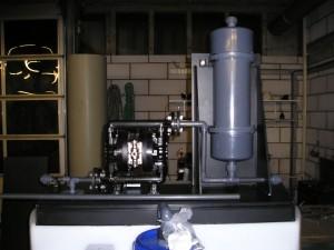 PVC pulsatiedemper, pulsatie demper membraanpomp
