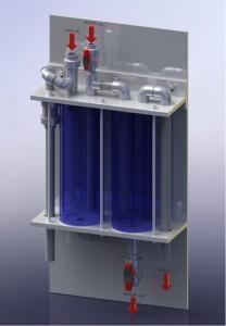Gaswasser zoutzuur, zoutzuurdamp wasser, zoutzuurdamp