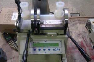 Zwavelzuurleiding, PTFE, PFA, lassen, H2SO4 96%, IR lassen, infrarood lassen, GF,, PFA Parker, PFA Entegris