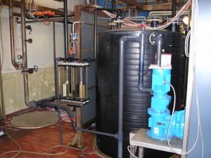gaswasser zoutzuur, gaswassertje, zoutzuur dampen afvangen