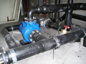Koelwaterpomp, HDPE koelwater leiding