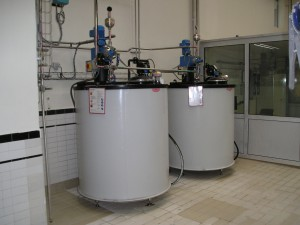 doseertanks dagtank, doseertanks chemie, dubbelwandige tank, HDPE tank, BRL-K903. DVS 2205
