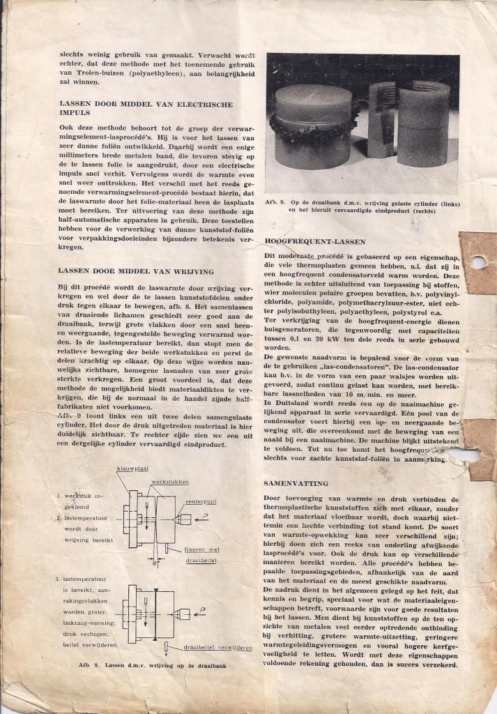 wrijvingslassen kunststof, lastechniek kunststof, lassen thermoplasten