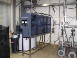 Natriumhypochloriet installatie, chloorbleekloog