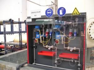 Pompkast, H2SO4,  PVDF infrarood IR gelast