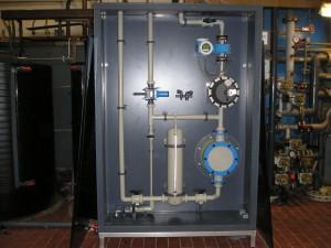 pompkast, Natriumhydroxide, NaOH, kunststof kast