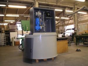 PP, polypropeen, doseer installatie, kunststof tank, pulsatiedemper, Serra. pomp, DVS 2205