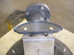 kunststofapparatenbouw, testopstelling acrylaat