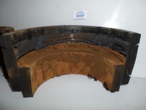 PE elektromoflassen, defecte elektromoflas verbinding, slecht gelaste HDPE elektromof