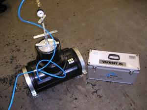 hdpe lassen infra, vacuum elektrolas aanboorzadel.