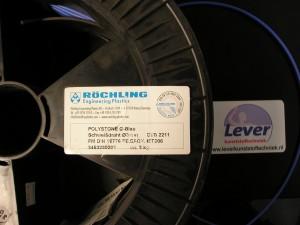 HDPE, PE, polyetheen, lasdraad, blauw polyetheen lasdraad, polystone