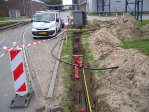 HDPE gasleiding, hoge druk, NEN 1555
