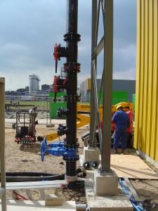 koelwater, kunststof leiding, HDPE