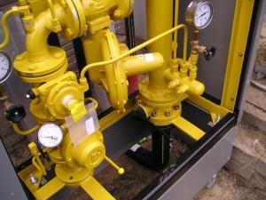 HDPE gasleiding, gasreduceerstation