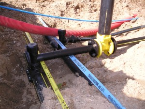 HDPE gasbuis, HD-PE gasleiding, dienstleiding