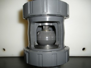 Kegelterugslagklep Type 561, Type 562, PVC-U, PVC-C, ABS, PVDF