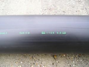 Kunststofbuis PE-HD DN 100 = DA 110