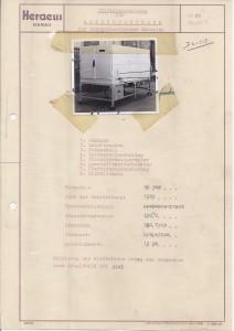 Oven voor verwarmen thermoplastische kunststoffen