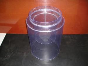 Manchet, flexibel, transparant zacht PVC