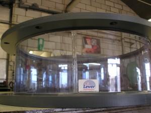 Manchetverbindingen, manchetten, zacht PVC aan hard PVC gelast