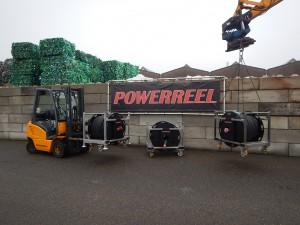 PowerReel 7000 voor lange en zware krachtstroom verlengkabels